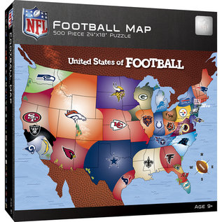 NFL USA Map Puzzle
