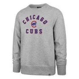 '47 Brand Chicago Cubs Men's Headline Crewneck Sweatshirt
