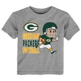 Outerstuff Green Bay Packers Lil' Player Short Sleeve Tee