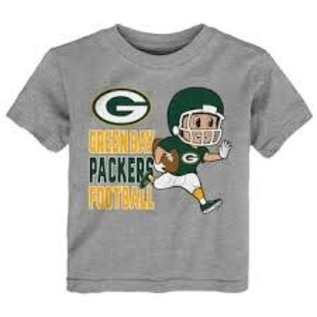 Green Bay Packers Lil' Player Short Sleeve Tee