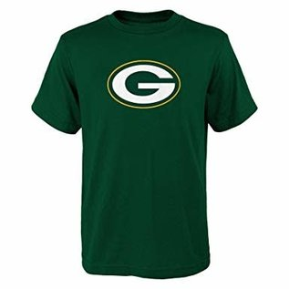Outerstuff Green Bay Packers Youth Primary Logo Short Sleeve Tee