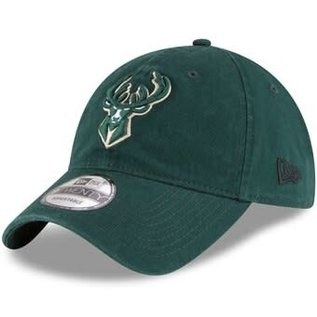New Era Milwaukee Bucks Core Classic Adjustable Hat