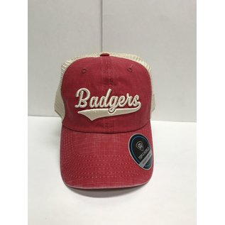 Wisconsin Badgers Raggs Adjustable Hat