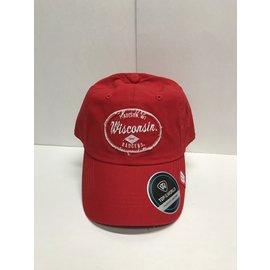 Wisconsin Badgers Tatter Adjustable Hat