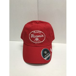 Wisconsin Badgers Tatter Adjustable Hat