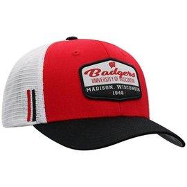 Wisconsin Badgers Verge Adjustable Hat