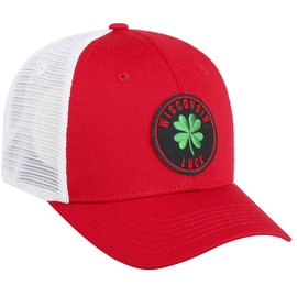 Wisconsin Badgers Lucki City Two Tone Adjustable Hat