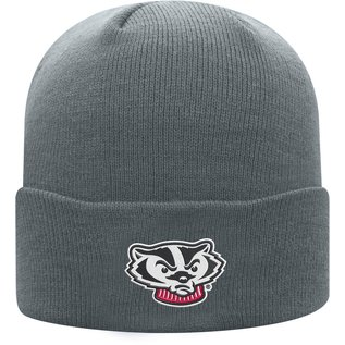 Wisconsin Badgers Cuff 1 Knit Hat