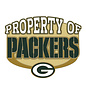 Green Bay Packers Property of Pin with G