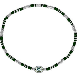 Aminco Green Bay Packers Shell Necklace