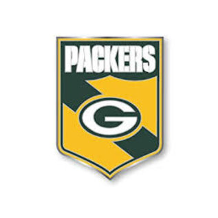 Green Bay Packers Shield Pin