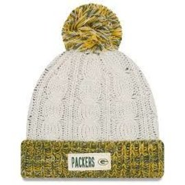 Green Bay Packers Women's Rugged Tag Knit Hat