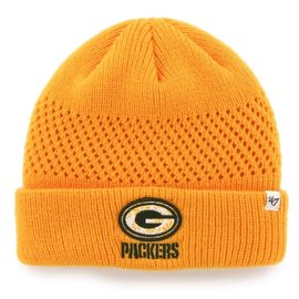 '47 Brand Green Bay Packers Poppie Cuffed Knit Hat