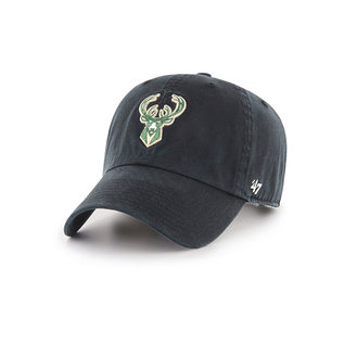 '47 Brand Milwaukee Bucks Clean Up Adjustable Hat