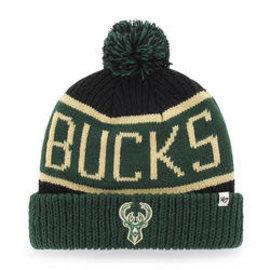 Milwaukee Bucks Green Calgary Cuffed Knit Hat
