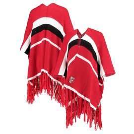 Zoozatz Wisconsin Badgers Women's Referee Wrap/ Shawl