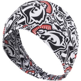 Wisconsin Badgers Women's Stacked Headband