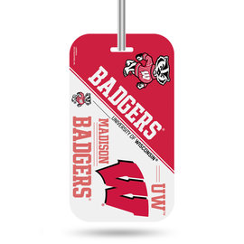 Rico Industries, Inc. Wisconsin Badgers Luggage Tag