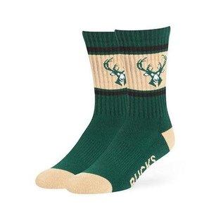 Milwaukee Bucks Duster Socks Large
