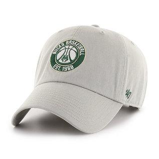 Milwaukee Bucks Gray Clean Up Adjustable Hat