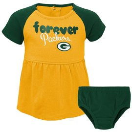 Outerstuff Green Bay Packers Infant Formation Dress