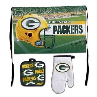 Green Bay Packers Deluxe Barbeque Set