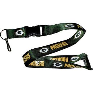 Aminco Green Bay Packers Snap Clip Lanyard