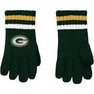 Outerstuff Green Bay Packers Youth 4-7  Knit Gloves