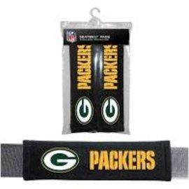 Fremont Die Green Bay Packers Seat Belt Pads
