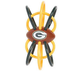 Green Bay Packers Teether and Rattle