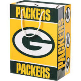 Forever Collectibles Green Bay Packers Large Gift Bag