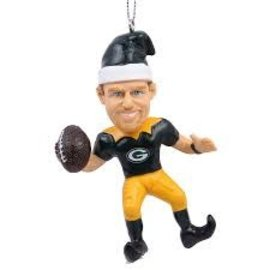 Forever Collectibles Green Bay Packers Aaron Rodgers Elf Ornament