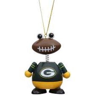 Evergreen Enterprises Green Bay Packers Ball Man Ornament