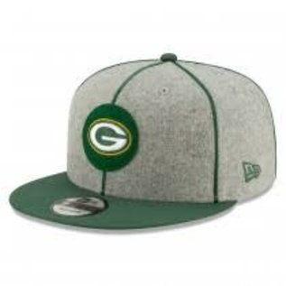 New Era Green Bay Packers 2019 9-50 Onfield Sideline Home Flatbill Snapback Adjustable Hat