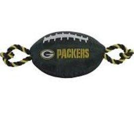 Green Bay Packers Nylon Football Dog Toy