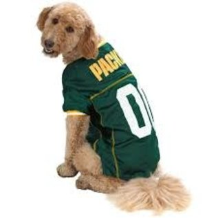 Little Earth Green Bay Packers Dog Jersey