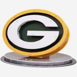 Forever Collectibles Green Bay Packers PZLZ 3D Logo Puzzle