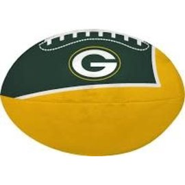 "Jarden Green Bay Packers Small 4"" Vinyl Football"