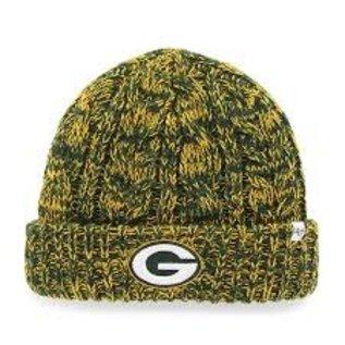 '47 Brand Green Bay Packers Women's Prima Cuffed Knit Hat