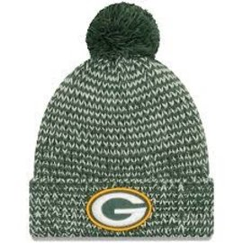 New Era Green Bay Packers Women's Frosty Cuff Knit Hat