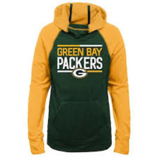 Outerstuff Green Bay Packers Girls Format Funnel Hoodie