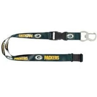 Green Bay Packers Bottle Opener Lanyard