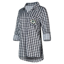 College Concepts LLC Green Bay Packers Women's Wanderer Nighshirt