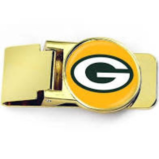 Green Bay Packers Gold Money Clip