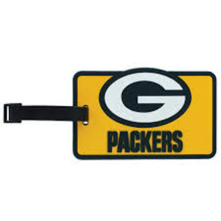 Green Bay Packers Rubber Luggage Tag