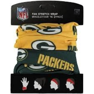 Green Bay Packers 2 Pack Fan Stretch Wrap