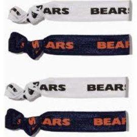 Chicago Bears 4 Pack Hair Ties