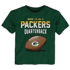 Outerstuff Green Bay Packers Youth Future Quarterback Short Sleeve Tee