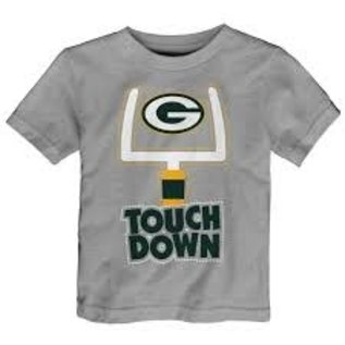 Outerstuff Green Bay Packers Toddler Lil Goals Short Sleeve Tee
