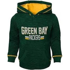 Outerstuff Green Bay Packers Toddler Tiny Lineman Hoodie